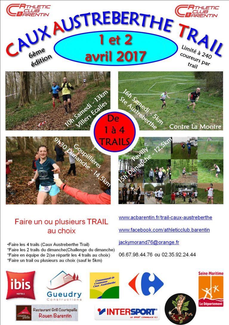 Caux-Austreberthe Trail - Inscription