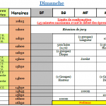 horaires 23.04
